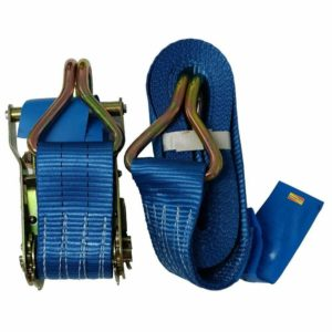 1 Ratchet Strap 2 Ton Load 50mm Wide X 7 M Meter Lashing Tie Down 2000kg NEW