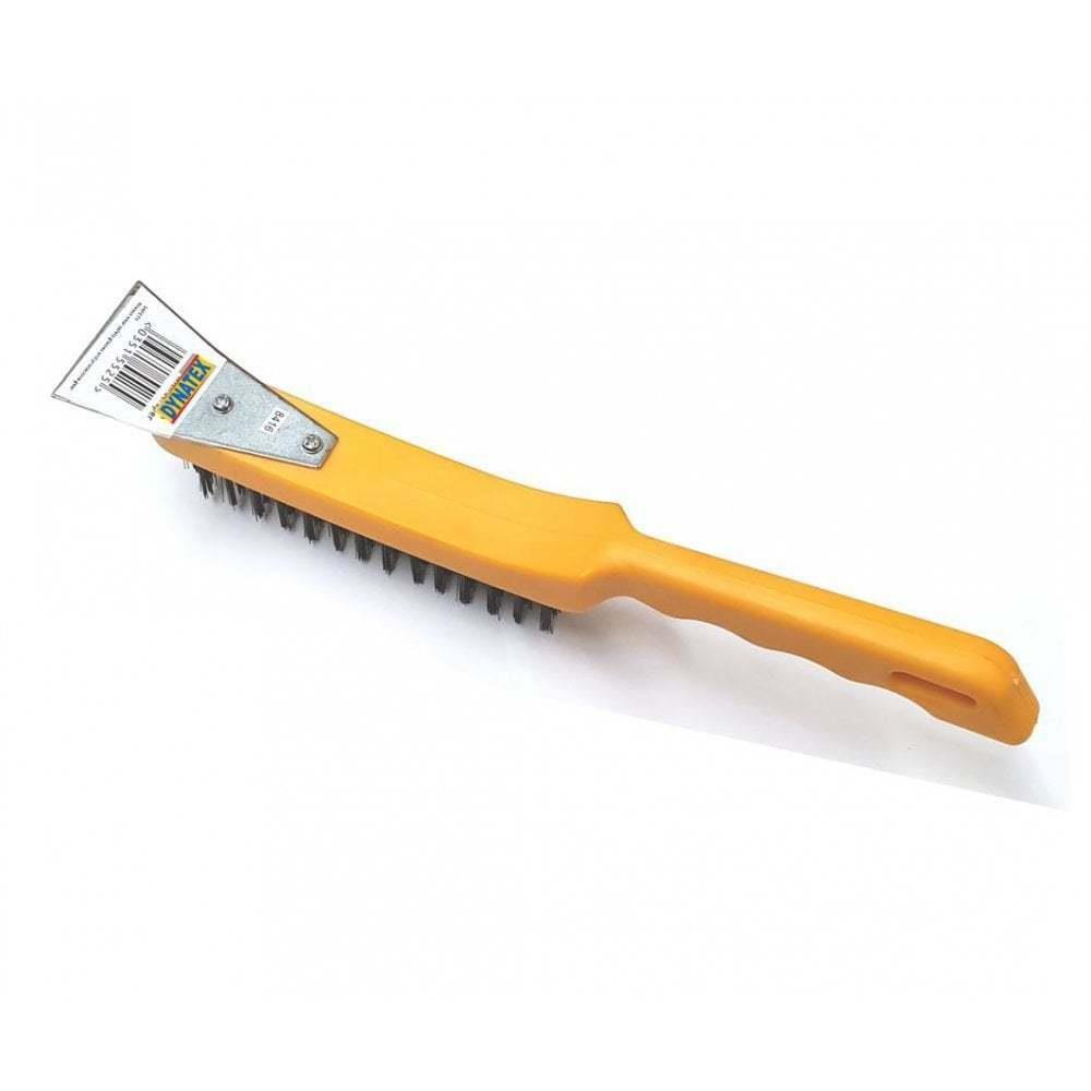 Universal Heavy Duty Wire Brush For Cleaning Dirty Rust Steel Mechanics Engineer