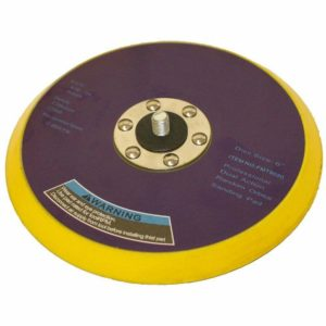 DA Palm Sander Backing Pad 150mm 6 Vinyl 5/16 Thread For Self Adhesive Discs