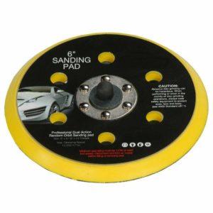 DA Palm Sander Polisher Backing Pad 150mm 6 Velcro Hook & Loop 5/16 Thread