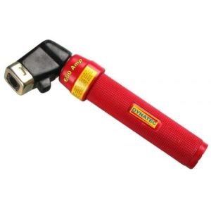 Electrode Holder Welding Torch 600A Red Twist Grip for Arc Rod 400 Amp Stick