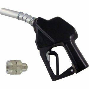 Fuel Gun Hose Trigger Diesel Nozzle Manual Automatic Meter Digital Red Black