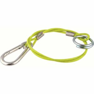 Hook & Ring Break Away Cable Hi Vis Brake Trailer Towing Safety 1.2M Fits Ifor Williams