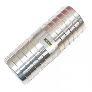 """Hose Joiner 4"""" Suction Hose Laflat Water Pump coupling Repair Joint Aluminium"""