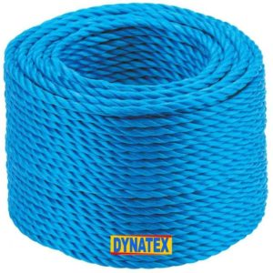 Polypropylene Rope 4mm x 220M Sailing Camping Boat Load Securing Cord Blue