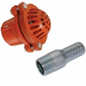 Suction Foot Clack Valve Hose Strainer Water Pump Drainage Tail