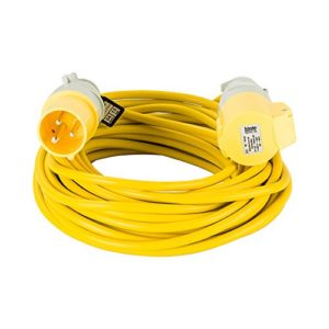 14 M Metre 16 Amp 110 V Volt 2.5mm Extension Cable Generator Lead Power Hook Up