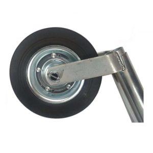 Jockey Wheel 48mm & Bracket Plant Trailer Compressor Caravan Generator Fits Bradley